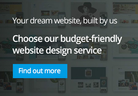 Your dream website built by us